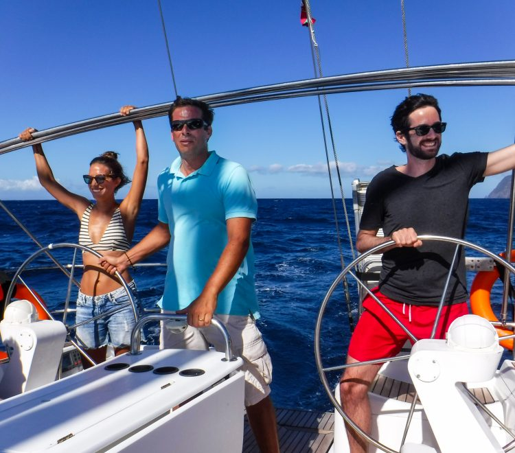 sailing lessons azores